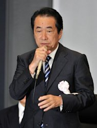 Former Japanese premier Naoto Kan speaks at a parliamentary commission in Tokyo. Kan admitted the government's persistent push for nuclear energy was to blame for the Fukushima nuclear disaster. Kan was criticised for creating a distraction when he visited the nuclear plant a day after it was swamped by a huge tsunami -- as emergency workers were grappling with a meltdown