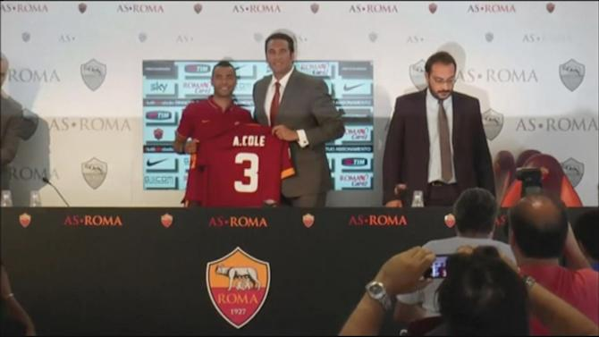 Serie A - Cole reveals why he picked Roma