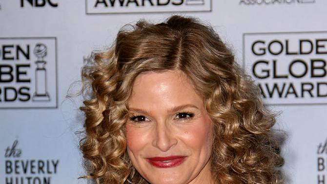 "Kyra Sedgwick, winner Best Performance by an Actress in a Television Series - Drama for ""The Closer,"" at the 64th annual Golden Globe Awards."