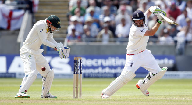 England's Ian Bell in action