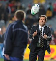Wallabies coach Robbie Deans at the Rugby World Cup in Auckland in 2011. Outspoken Wallabies flyhalf Quade Cooper has criticised the conservative coaching methods and tactics of Deans