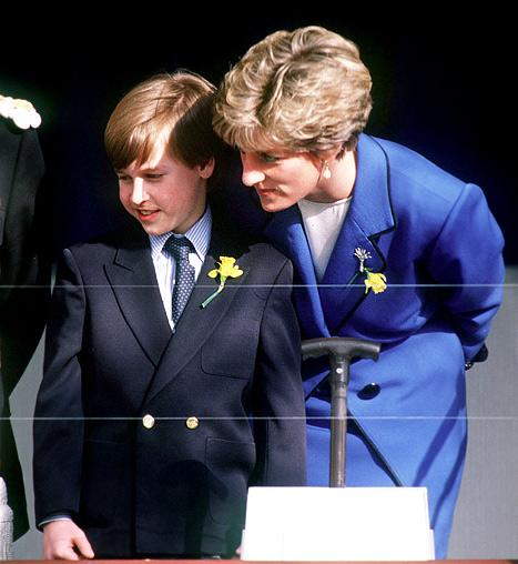 "Prince William: I'm ""Very Sad"" Princess Diana Never Got to Meet Kate Middleton"