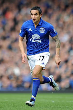 Tim Cahill has joined the New York Red Bulls after eight years at Everton