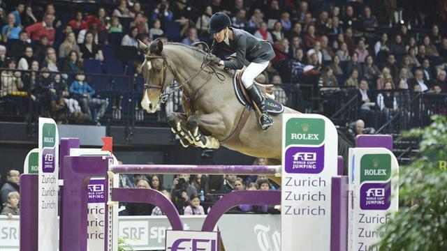 Equestrianism - Diniz doubles up with win in Zurich