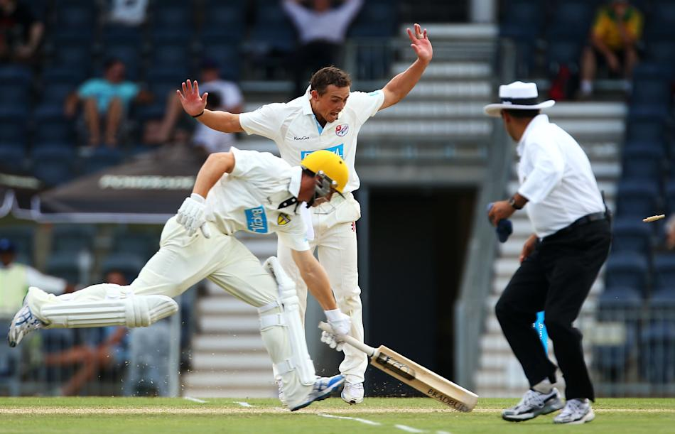 Sheffield Shield - Blues v Warriors: Day 1