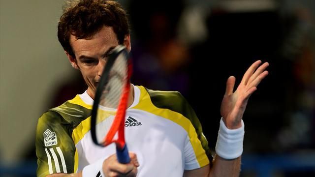 Tennis - Murray stumbles to defeat in Abu Dhabi