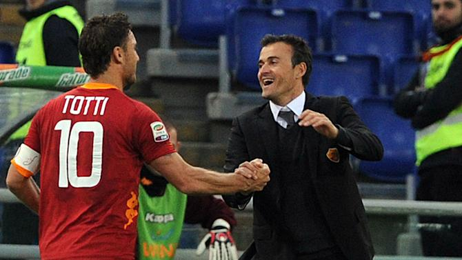 Totti to Barca? Why not!? - Luis Enrique