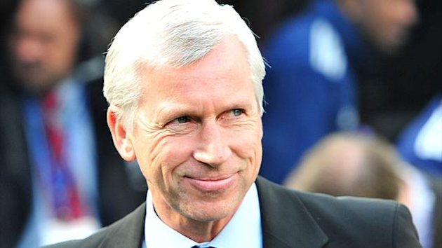 FOOTBALL Newcastle United's manager Alan Pardew after the 3-0 win over Stoke on April 21
