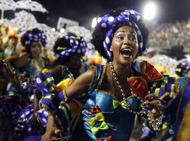 "Dubbed the ""greatest show on Earth"", this year's Carnival is only a warm-up to the 2014 FIFA World Cup and 2016 Olympic and Paralympic Games which will also be held in Rio (Reuters)"
