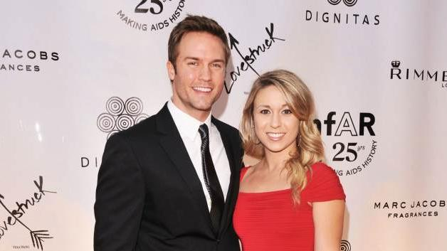 Scott Porter and Kelsey Mayfield seen at Cinema Against AIDS Toronto 2011 Benefitting amfAR and Dignitas at the Carlu Hotel on September 11, 2011 in Toronto -- Getty Images