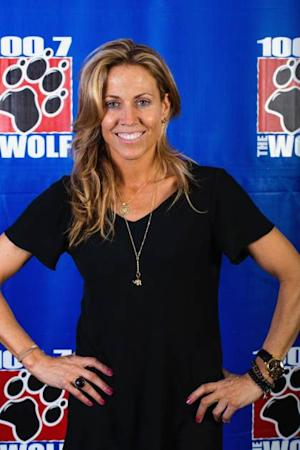 Sheryl Crow poses for a photo after performing an acoustic Doghouse hosted by 100.7 the Wolf on April 8, 2013 in Seattle, Washington.  -- FilmMagic