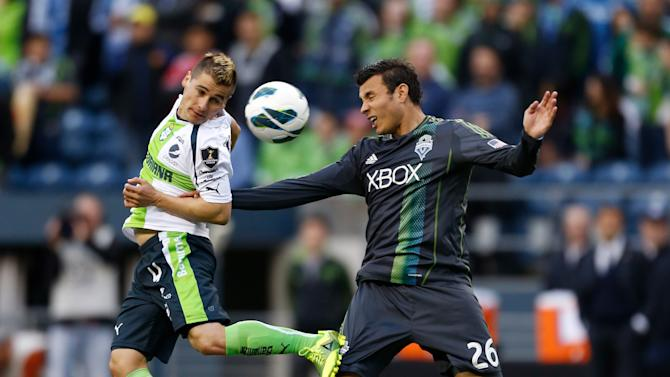 Santos Laguna v Seattle Sounders - CONCACAF Champions League 2013