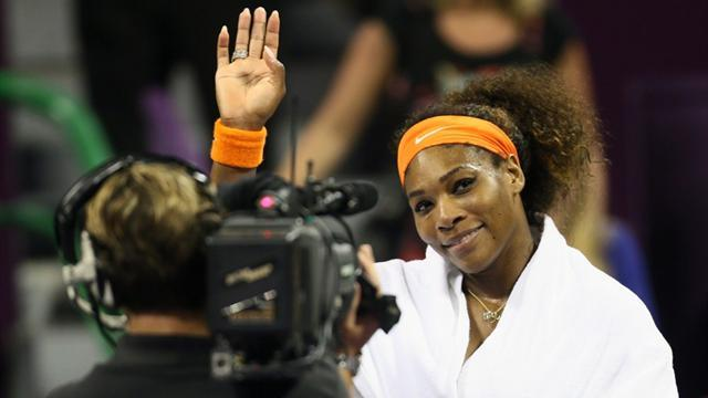 Tennis - Serena gets in trouble for snapping Tiger