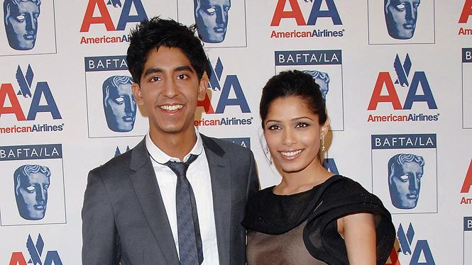 18th Annual BAFTA/LA Britannia Awards 2009 Dev Patel Freida Pinto