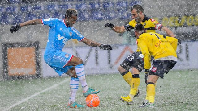 Ligue 1 - Ten-man Sochaux freeze out Marseille
