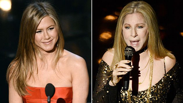 Jennifer Aniston and Barbra Streisand