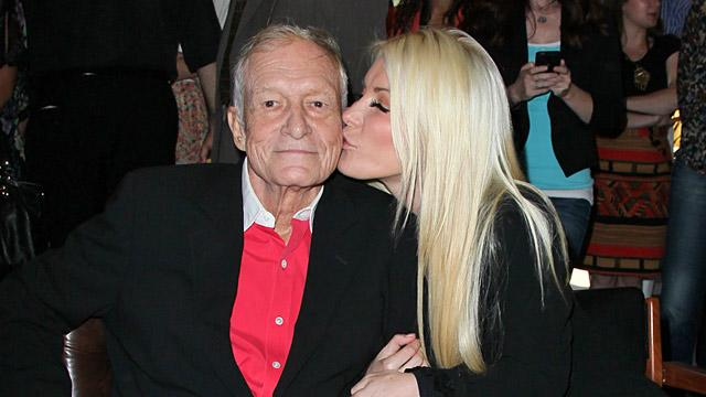 Hugh Hefner, Crystal Harris Wedding Back On?