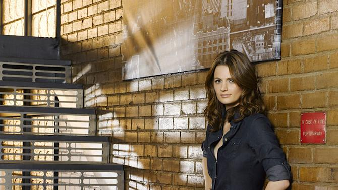 "Stana Katic stars as Detective Kate in ""Castle."""