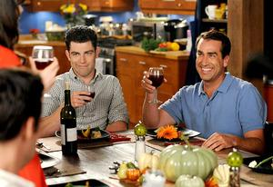 Max Greenfield and Rob Riggle | Photo Credits: Ray Mickshaw/FOX