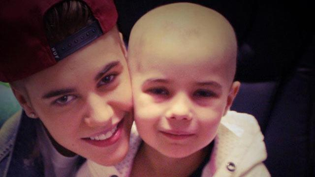 Justin Bieber Gives Private Concert to Leukemia Patient
