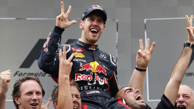 Formula 1 - Vettel: Rows no influence on Webber