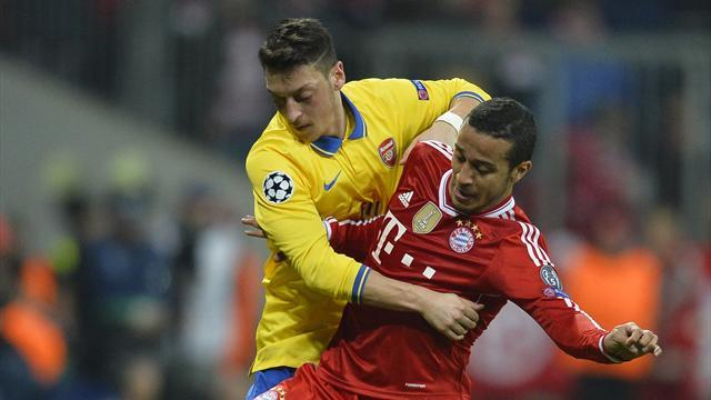 Champions League - Paper Round: Ozil slaughtered for Munich showing