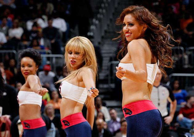 The Atlanta Hawks Dancers Getty Images