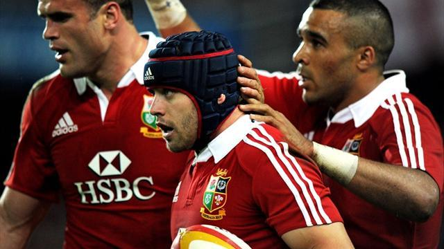 Lions Tour  - Halfpenny revels in a world of his own