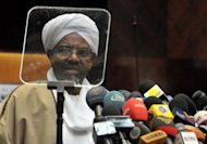 Sudanese President Omar al-Bashir is seen on June 18. Khartoum has seen an outburst of social unrest in the past week, driven by rampant inflation and simmering discontent, with the regime determined to crush a movement led by Sudanese students that has strong historical resonance.