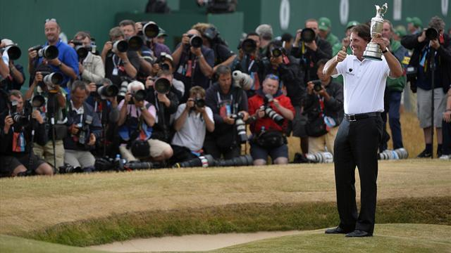 Golf - Mickelson climbs rankings after Open victory