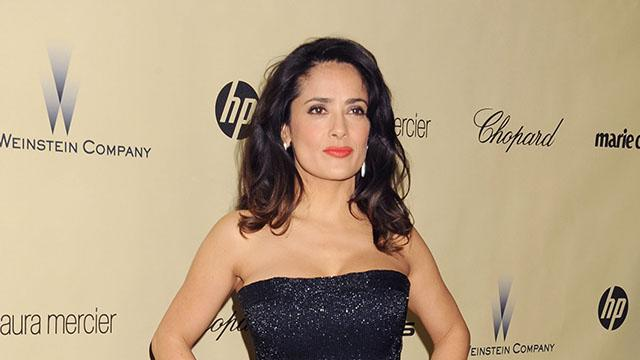 The Weinstein Company's 2013 Golden Globes After Party: Salma Hayek
