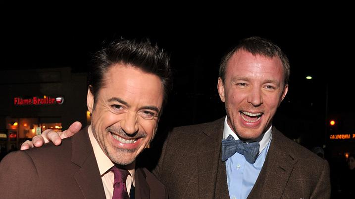 Sherlock Holmes A Game of Shadows 2011 LA Premiere Robert Downey Jr. Guy Ritchie