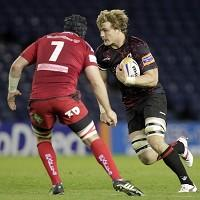 David Denton, right, is determined to build on his breakthrough season with Scotland
