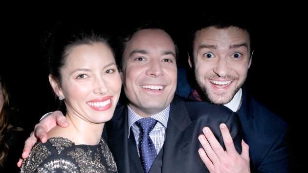 Jessica Biel, Jimmy Fallon, and Justin Timberlake  -- Getty Premium
