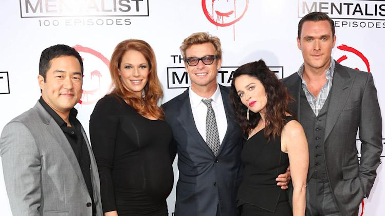 """The Mentalist"" Celebrates Its 100th Episode"
