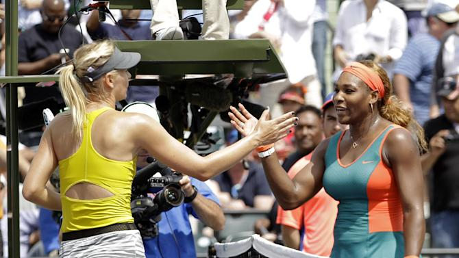 Williams beats Sharapova for 15th straight time