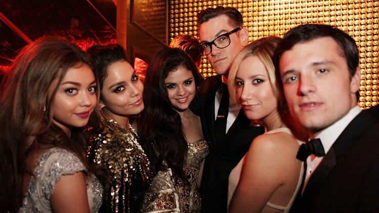 The Weinstein Company's 2013 Golden Globe Awards After Party Presented By Chopard, HP, Laura Mercier, Lexus, Marie Claire, And Yucaipa Films - Inside: Sarah Hyland, Vanessa Hudson, Selena Gomez, Ashley Tisdale and Josh Hutcherson