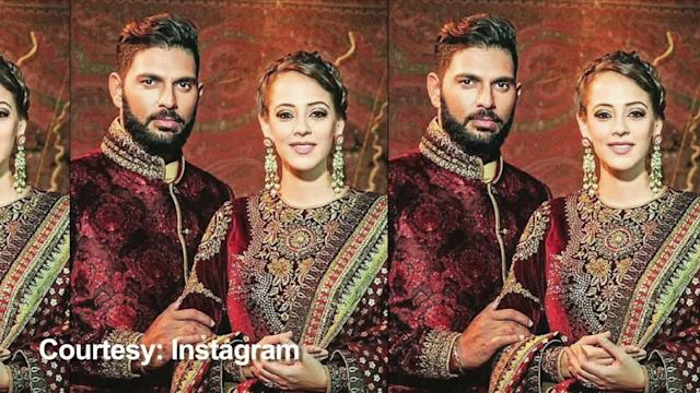 Guess who got married along with Yuvraj and Hazel!