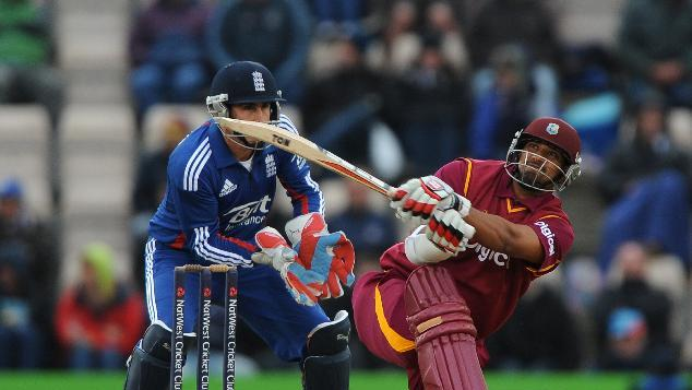 Ravi Rampaul helped rescue the West Indies innings