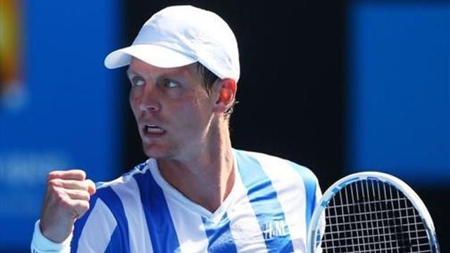 Tennis - Berdych to play Aegon Championships, targets Wimbledon crown