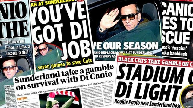 Football - Paper Round: Di Canio, coup or fascist outrage?