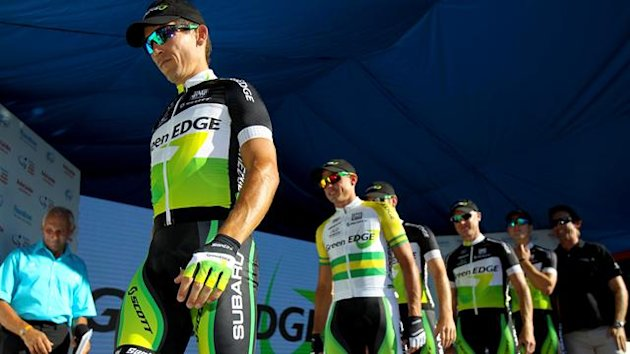 Australian cycling team GreenEdge