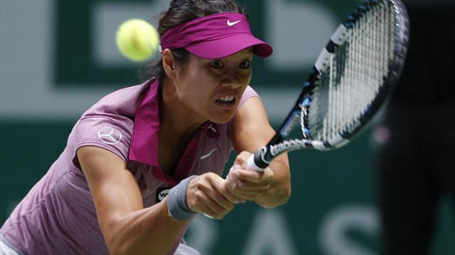 Tennis - Li beats Kvitova to spot in Istanbul final