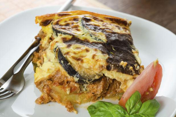 Until the early 20th century, moussaka was a simple dish comprising of little more than vegetables and a little meat. Then Greek chef (who trained in France) began adding a béchamel sauce and the dish