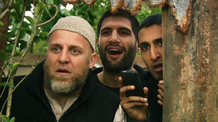 Nigel Lindsay Kayvan Novak Arsher Ali Four Lions Production Stills Drafthouse 2010