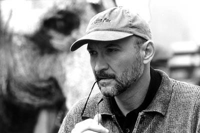 Director Frank Darabont on the set of Castle Rock's The Majestic