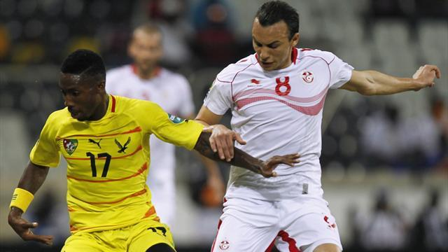 African Cup of Nations - Referee shocker mars Togo progress as Tunisia exit