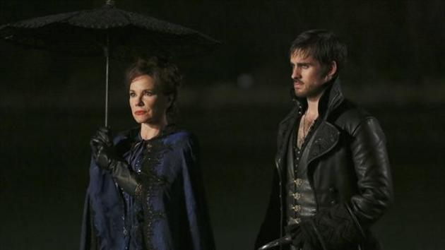 Cora and Hook arrive in Storybrooke in 'Once Upon A Time' Season 2 -- ABC