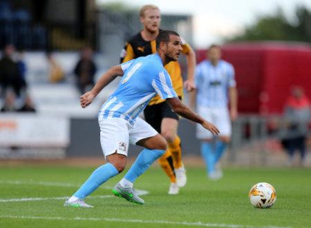 Soccer - Pre Season Friendly - Cambridge United v Coventry City - Abbey Stadium