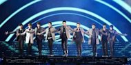 Super Junior Jadi Super Hero di Konser SS5 Indonesia